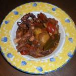 Χταπόδι στη γάστρα (μια συνταγή από τη Λευκάδα)